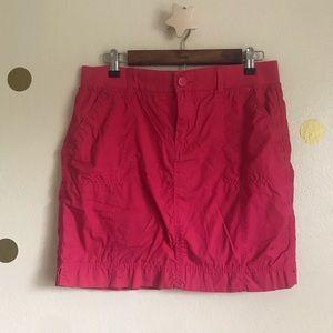 Gloria Vanderbilt Hot Pink Casual Skort. Size 6.